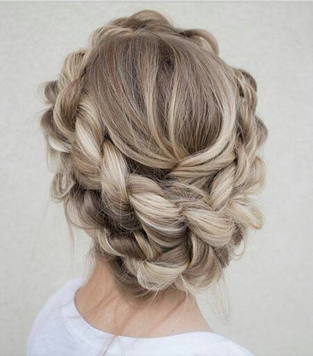 couronne coiffure