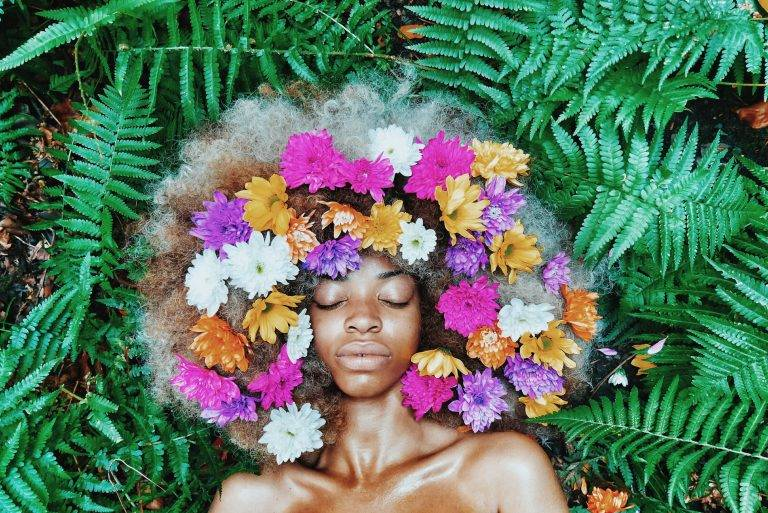 cheveux- femme afro