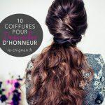 10 coiffures pour demoiselles d'honneur