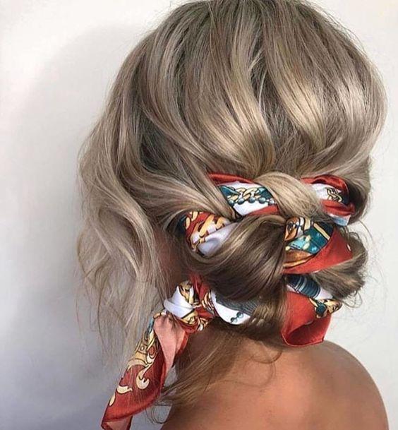 coiffure-foulard