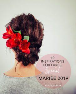 10 Inspirations coiffures mariées 2019